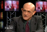 Still frame from: Democracy Now! Wednesday, December 17, 2008