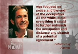 Still frame from: Democracy Now! Thursday, February 12, 2009