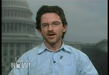 Still frame from: Democracy Now! Thursday, February 26, 2009