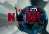 Still frame from: Democracy Now! Thursday, April 16, 2009