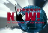Still frame from: Democracy Now! Friday, July 24, 2009
