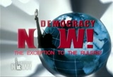 Still frame from: Democracy Now! Monday, August  3, 2009