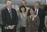 Still frame from: Democracy Now! Thursday, August  6, 2009