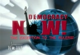 Still frame from: Democracy Now! Thursday, August 13, 2009