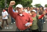 Still frame from: Democracy Now! Monday, September 28, 2009