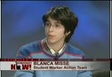 Still frame from: Democracy Now! Tuesday, November 17, 2009