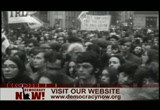 Still frame from: Democracy Now! Friday, December 4, 2009
