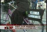 Still frame from: Democracy Now! Monday, December 14, 2009
