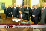 Still frame from: Democracy Now! Friday, April 9, 2010