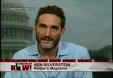 Still frame from: Democracy Now! Thursday, July 15, 2010