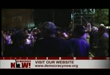 Still frame from: Democracy Now! Tuesday, August 10, 2010