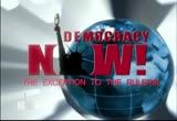 Still frame from: Democracy Now! Friday, November 19, 2010