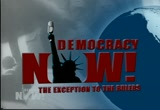 Still frame from: Democracy Now! Friday, January 21, 2011