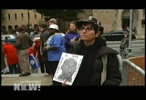 Still frame from: Democracy Now! Tuesday, September 20, 2011