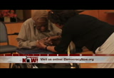 Still frame from: Democracy Now! Wednesday, January 22, 2014