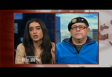 Still frame from: Democracy Now! Wednesday, March 5, 2014