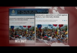 Still frame from: Democracy Now! Friday, March 7, 2014