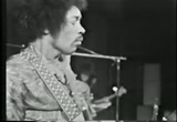Still frame from: Jimi Hendrix Live Sweden 15 July