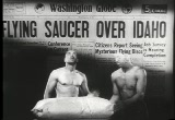 Still frame from: Flying Saucer trailer