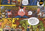 Still frame from: g4tv.com-video18474: Comic of the Week: Terminal Press Comics