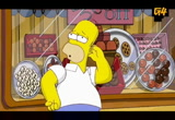 Still frame from: g4tv.com-video18484: Simpsons: Chocolate Trailer