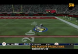 Still frame from: g4tv.com-video20100: Madden Super Bowl Simulation