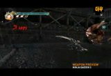Still frame from: g4tv.com-video26169: Preview: Ninja Gaiden II Weapons
