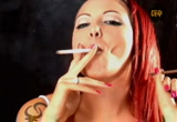 Still frame from: g4tv.com-video39329: International Sexy Ladies Show: Sultry Smokes