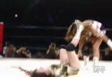 Still frame from: g4tv.com-video9798: Straight from the japanese wrestling circut.