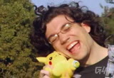 Still frame from: g4tv.com-video9800: Adam tackles a heartbreaking story about a man and his Pikachu.