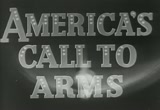 Still frame from: Castle Films America's Call to Arms