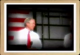 Still frame from: Bush Twins  Ad - Vote for our dad