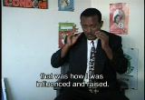 Still frame from: HIV/AIDS AWARENESS in ETHIOPIA: Approaches to Prevention