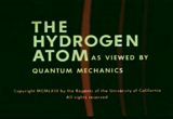 Still frame from: The Hydrogen Atom—As Viewed by Quantum Mechanics (standard version)