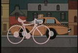 Still frame from: I Like Bikes...