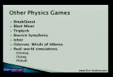 Still frame from: IGS 2007 - Physics Games Go Indie (Matthew Wegner)