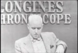 Still frame from: Longines Chronoscope with Charles Harding on Iranian Oil Crisis