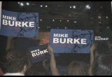 Still frame from: Mike Burke for President