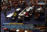 Still frame from: Senate Proceeding 12-06-11