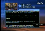 Still frame from: Senate Proceeding 12-16-11