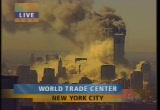 Still frame from: NBC Sept. 11, 2001 9:54 am - 10:36 am