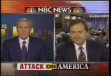 Still frame from: NBC Sept. 11, 2001 6:56 pm - 7:38 pm