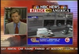Still frame from: NBC Sept. 12, 2001 1:07 pm - 1:49 pm