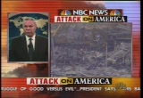 Still frame from: NBC Sept. 12, 2001 2:31 pm - 3:12 pm