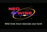 Still frame from: WISE Finds Fewer Asteroids near Earth