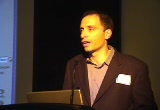 Still frame from: Open Content Alliance Launch Event