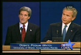 Still frame from: Presidential Debate - September 30, 2004