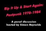 Still frame from: Rip It Up & Start Again: Postpunk 1978-1984