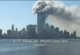 Still frame from: Random 9/11 Clips