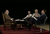 Still frame from: Rosen's RoundTable #127 The cost of higher education